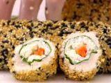 Receita de Sushi de Frango à Moda Brasileira da Ana Maria