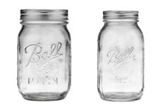 Our larger Ball Jars make excellent economical choices for storing dried foods and for gifting soups and pre-made mixes! Ball Canning Jars, Quart Mason Jars, Wide Mouth Mason Jars, Ball Jars, Refrigerator Pickle Recipes, Big Jar, Pickling, Jar Lids, Tool Box
