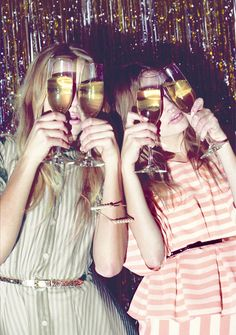 Ain't no party like a champagne party