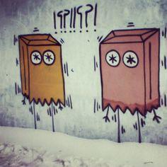 "above.love.art: ""lost n found snow must go on poznan. poland #poland #poznan #wall #snow #painting #arte #art #work #artwork #artist #street #streetartist #streetart #instaartist #instaart #instagraff #graffiti #graffitiart #aerosolart #sprayart #urbanart #urbanwalls #wallart #canvasart #stickerart #cityart #aboveloveart #above #love #abovelove"""
