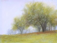 "Autumn Mist by Kathy McDonnell Pastel ~ 8"" x 10"""
