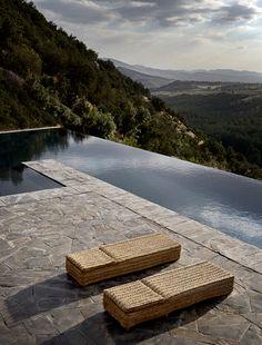 Studio KO - Villa E - Marrakech - ©Dan Glaser > Infinity pool
