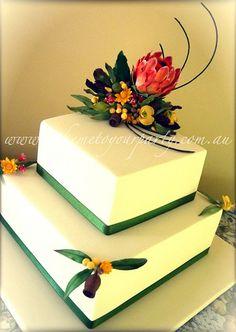 Australian Native Wedding Cake