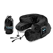 Cabeau Air Evolution Inflatable Travel Neck Pillow - The Best Travel Pillow Built for Maximum Comfort and Portability, Black