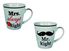 Bada Bing 2er Set Mr. Right und Mrs. always Right Kaffeeb... https://www.amazon.de/dp/B01N9BESSS/ref=cm_sw_r_pi_dp_x_bBtByb4TPQA2M