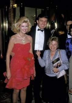 Ivana Trump Donald Trump and Dr Ruth Westheimer