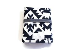 Travel Changing Pad - Navy Aztec