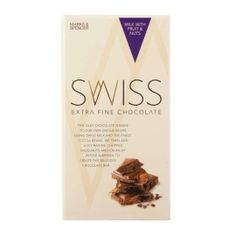 Swiss Extra Fine Chocolate with Fruit & Nuts 150g   Woolworths.co.za
