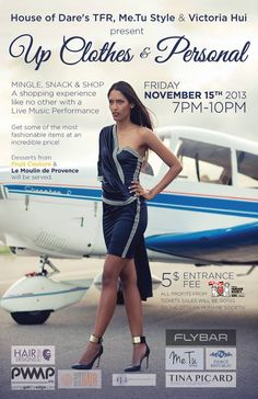 Up Clothes & Personal at FlyBar  Friday Nov. 15th in Support of the Humane Society!