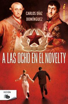 """Pero Qué Locura de Libros.: Presentación de """"A LAS OCHO EN EL NOVELTY"""" de Carl..."""