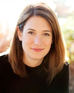 Gillian Flynn, author of: Gone Girl; Dark Places; and Sharp Objects.