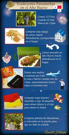 Tradiciones Panameñas en el Año Nuevo #Panamá - @HIMGPanama