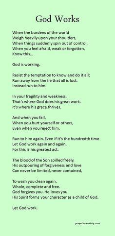 God Works                                                                                                                                                                                 More