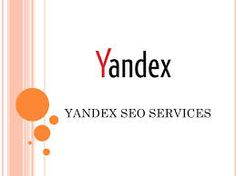 Buy Yandex SEO services for your Russian website sales or traffic.  Affordable russian seo services only on fiverr http://fiverr.com/seoranks1/provide-russian-yandex-seo-services