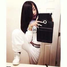 swag outfits with  only white timberlands    ... Swag, White Outfit, Luv Hair, Timberland Boots Outfit, Nature Hair