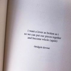 """8,720 Likes, 75 Comments - (@bridgettdevoue) on Instagram: """"Everyone deserves someone ❤️ • My debut book """"Soft Thorns"""" is available at amazon.com (link in bio)…"""""""