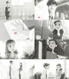 I adore this Disney short! #Paperman