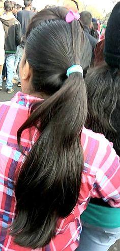 Long Ponytail Hairstyles, Long Hair Ponytail, Long Ponytails, Braids For Long Hair, Indian Hairstyles, Indian Braids, Indian Long Hair Braid, Hair Photo, Beautiful Indian Actress