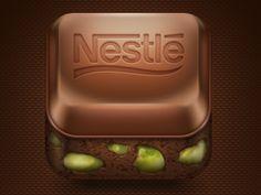 Nestle Damak iPhone Icon  by Ömer Çetin