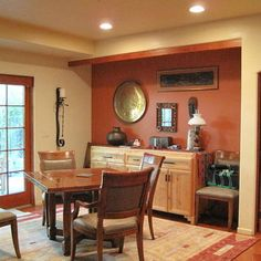 Clay Color Wall Design, Pictures, Remodel, Decor And Ideas Cabin Paint  Colors, · Cabin Paint ColorsDining Room ...