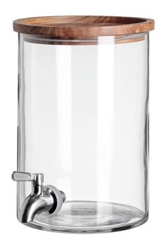 30 Jan 2020 - Glass dispenser with tap - Clear glass - Home All Kitchen Items, Kitchen Utensils, Kitchen Gadgets, Cooking Utensils, Cooking Tools, Glass Dispenser, Drink Dispenser, Plastic Beverage Dispenser, Zero Waste Store
