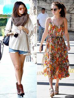selena gomez outfits - Celebrities Fashion News- Beauty- Costume ...