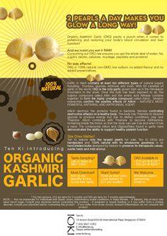 Organic Kashmiri Garlic by Ten Ki