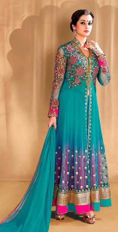 Shop Online for shreemam enterprise ANARKALI BLUE DRESS in India at Voonik.com, 3878111 ✓Easy Returns ✓Pan india Shipping ✓Affordable Prices ✓Cash On Delivery.