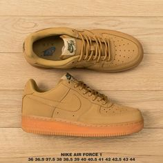quality design 99141 8fd88  77.61 Nike Air Force 1 Wheat,Matte leather NIKE Air Force 1 Wheat  football