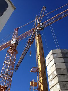 Tower cranes used for training and practical assessments by Koolat Safety Assessors