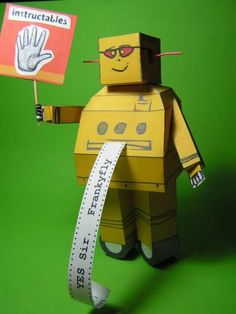 Paper Robot Craft