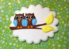Twin Owls Cookie