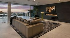 A Wonderful Luxury Contemporary House Designed By McClean Design (16)