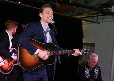 Tom Hiddleston Performs As Hank Williams Live