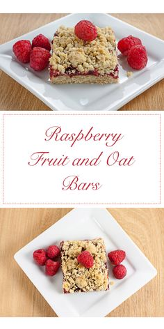 These Raspberry Fruit and Oat Bars are a great alternative to manufactured cereal bars and you can change the fruit up anytime you want!