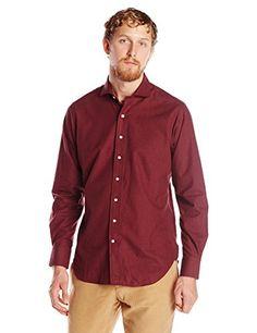 Carson Street Clothiers Men's Lightweight Flannel Spread Collar Shirt  http://www.beststreetstyle.com/carson-street-clothiers-mens-lightweight-flannel-spread-collar-shirt-2/