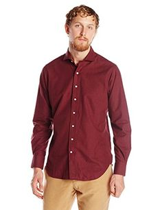 Carson Street Clothiers Men's Lightweight Flannel Spread Collar Shirt  http://www.beststreetstyle.com/carson-street-clothiers-mens-lightweight-flannel-spread-collar-shirt-2/