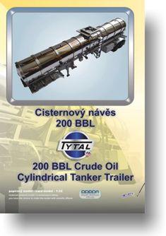 Papírový model - Cisternový návěs Tytal 200BBL