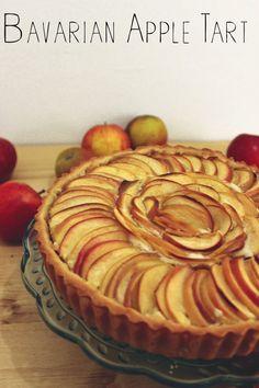 Fenton Eats: Bavarian Apple Tart