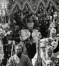 May 4, 1896 the Tsar Nicholas II left the Cathedral of the Assumption, after the Coronation