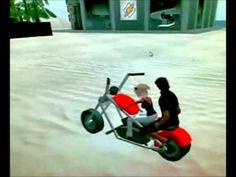 Secondlife 2012 motorcycle sunday ride cruising bike