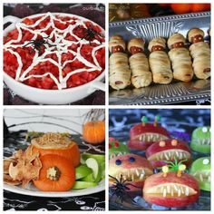 Halloween Birthday Party Themes for Kids | for halloween themed birthday parties sara from our easy bites has ...