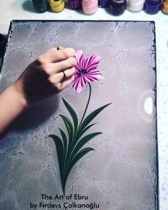 Ebru Art, Turkish Art, Traditional, Instagram