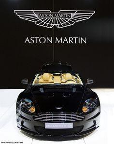 Visit The MACHINE Shop Café... ❤ The Best of Aston Martin ❤ (Aston Martin with Emblem)