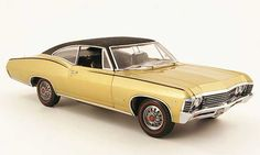 ertl+1+18+diecast+cars   Chevrolet Impala 1967 ss or/black Ertl 1/18