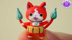 Jibanyan (Youkai watch) Polymer Clay Miniature Character Figure Tutorial