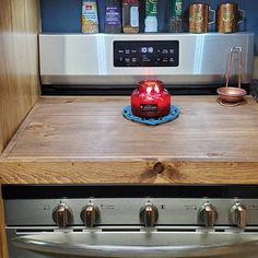 Clean Gas Stove Top, Flat Top Stove, Gas Oven, Stove Oven, Electric Stove Top Covers, Wooden Stove Top Covers, Burner Covers, Kitchen Backsplash, Kitchen Cabinets
