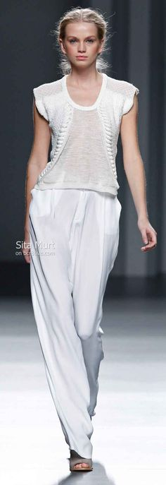 Sita Murt Spring 2014 #MBFW Madrid  for 20,000 more fashion boards look up Sharon Rrant  and Sassy Mr boards