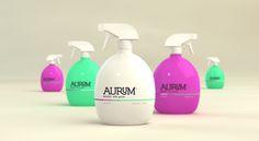 Aurum Body Splash by Sweety Branding Studio