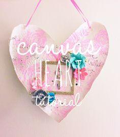 Canvas Heart Tutorial — Rebecca Janousek